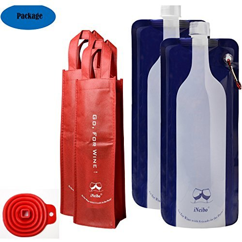 iNeibo Reusable Foldable Flexible 750ml