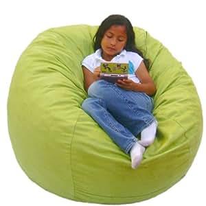 Amazon Com Cozy Sack 3 Feet Bean Bag Chair Medium Lime