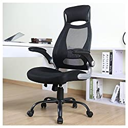 Owln Ergonomic High Back Mesh Office Chair With Adjustable Armrest Swivel Computer Task Chair