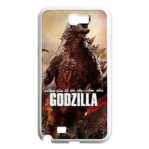 YUAHS(TM) New Fashion Cover Case for Samsung Galaxy Note 2 N7100 with Godzilla YAS421146
