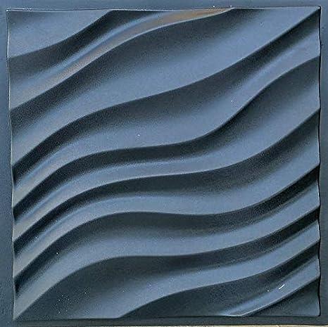 Dune Plastic Molds for 3 D Panels Plaster wall stone 3D decor wall panels Molds