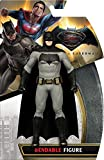 NJ Croce Batman Vs Superman Batman Bendable Action Figure, Multi Color