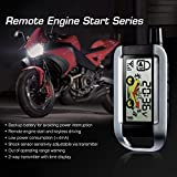 STEELMATE 2-Way Motorcycle Alarm System 986XO with