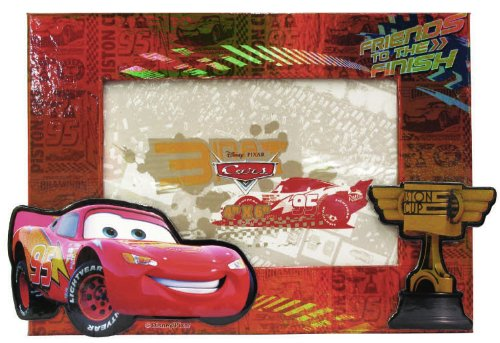 (Disney Cars Pressed Paper Picture)