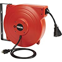 Ironton Retractable Cord Reel with Triple Tap 65ft Deals