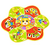 Kids Baby Musical Music Mat Toy Flower Shape Animal Singing Touch Carpet Toy Gift
