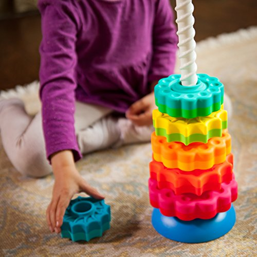 51wtm5SJEvL - Fat Brain Toys Kids Spinagain Toy
