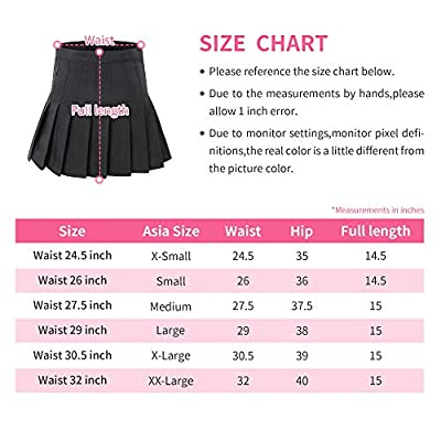 Tremour Women's High Waisted Pleated Mini Shorts Sport Skorts: Clothing