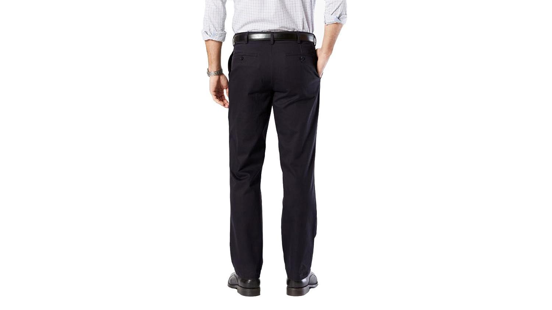 Dockers Mens Straight Fit Clean Khaki Pants D2