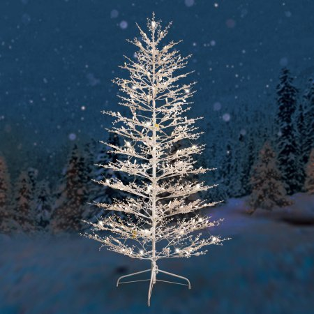 Ge Artificial Christmas Trees With Led Lights in US - 5