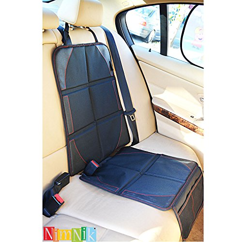 universal car seat protector by nimnik best heavy duty protection for child baby infant cars. Black Bedroom Furniture Sets. Home Design Ideas