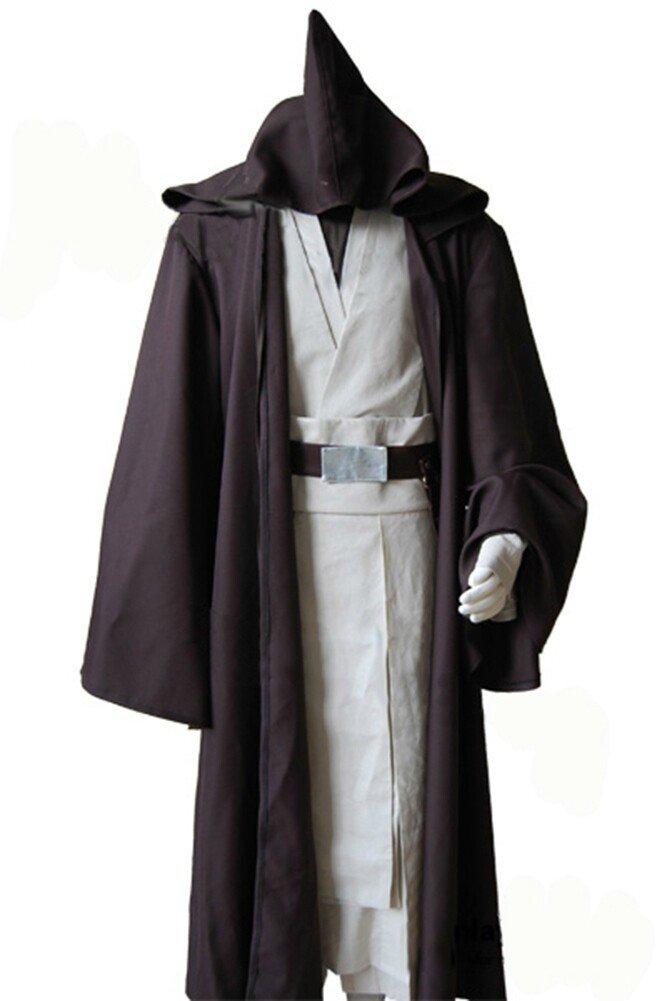 FUMAN Star Wars Alter Obi Wan Kenobi Cosplay Kostüm XXL B0180MO72Q Kostüme für Erwachsene Vorzüglich | Attraktives Aussehen