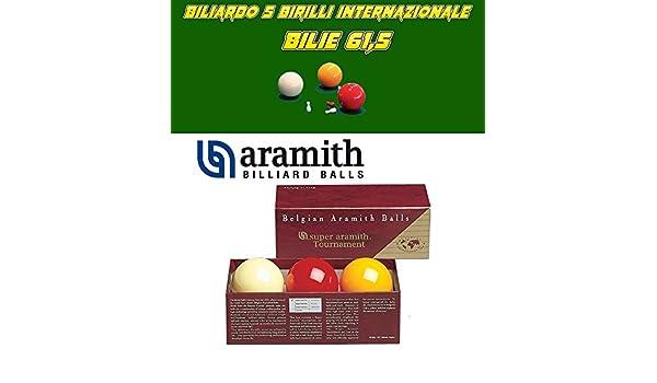 Bilie Juego Carambola Super Aramith Tournament 61,5 mm: Amazon.es ...