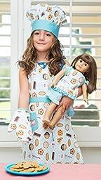 Handstand Kitchen Child\'s \'Milk and Cookies\' Apron