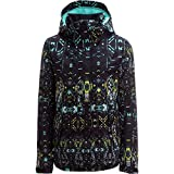Roxy SNOW Junior's Roxy Jetty Snow Jacket, True Black_Haveli Ikat, XS