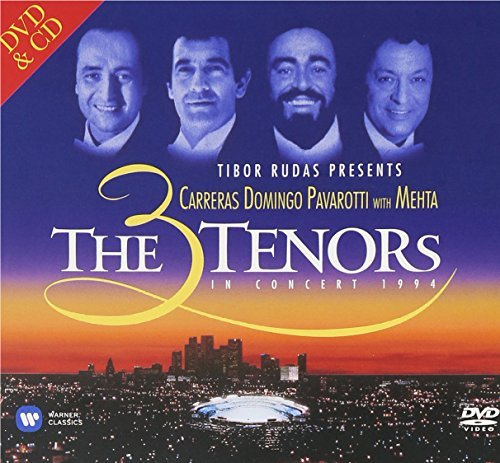 The 3 Tenors in Concert - Los Angeles 1994 (CD+DVD) - 20th Anniversary Edition by Pl??cido Domingo, Luciano Pavarotti Jos?? Carreras (2014-08-03) (The 3 Tenors In Concert 1994 Los Angeles)
