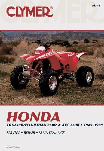 Honda TRX 4TRX & ATC 250R 85-89: Clymer Workshop Manual ...