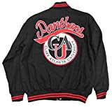 Clark Atlanta Panthers Varsity Trimmed HBCU Black College Mens Big & Tall Jacket (4x large)