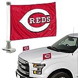ProMark Cincinnati Reds 2-Pack Ambassador Style Auto Flag Car Banner Set Baseball