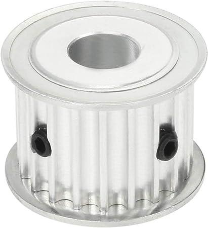 ZealMax Aluminio 5M 20 Dientes 12mm Orificio Correa dentada ...