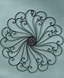 Iron Wall Medallion (Black) by GetSet2Save
