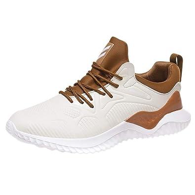 GNYD Zapatillas para Hombre Correr En Asfalto Transpirables ...