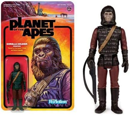 Planet of the Apes Gorilla Soldier Hunter ReAction Figure