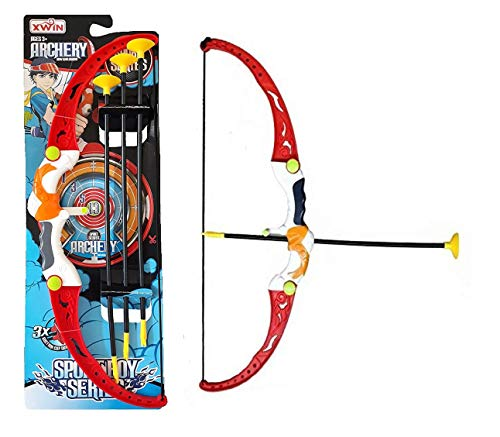FunBlast Shooting Bow & Arrow Toy – Sport Boy Series Target Shooting Game Bow & Arrow Toys for Boys|Kids. Price & Reviews
