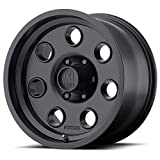 XD Series by KMC Wheels XD300 Pulley Satin Black Wheel (16x8''/6x139.70mm, 0 offset)