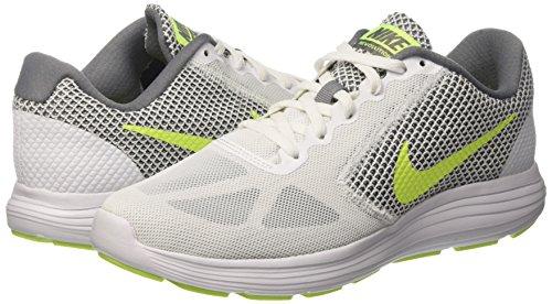 Volt Scarpe cool Revolution Grey Running 3 white vert Nike Bianco Uomo 8qEwx4Z4