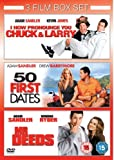 Chuck and Larry & 50 First Dates & Mr Deeds [Reino Unido] [DVD]