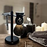 Latherwhip Razor and Brush Shaving Stand