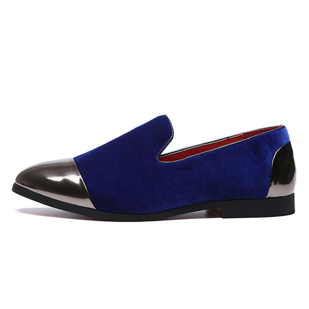 Mens Formal Shoes Pointed Toe Slip-On Fashion Casual Flats Dress Shoes Big Size by Phil Betty (Image #5)