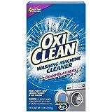 OXICLEAN(オキシクリーン) 洗濯槽クリーナー (アメリカ製) 粉末タイプ [汚れ/ニオイ予防] 1回分パック 80g×4包