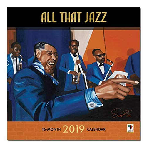 African American Expressions - 2019 All That Jazz 12 Month Calendar (12