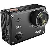 【Gitup Git 2 pro packing】高画質 防水 小型アクションカメラ GoPro互換 2160p ウェアラブルカメラ WIFI ノバテック チップセット 16.0MPイメージセンサー 高性能 高画質