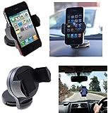 Generic In-Auto 360 drehbare Saug-Halterung für Apple iPhone 5/4S/4/3GS/3G/iPod Touch 2G/3G/4G/5G