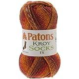Spinrite Kroy Socks FX Yarn, Canyon Colors