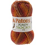 Spinrite Kroy Socks FX Yarn, Canyon Colors