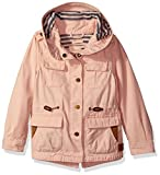 Scotch & Soda Kids Jacket with Hood and Front Pockets, Pink, 4 Kids