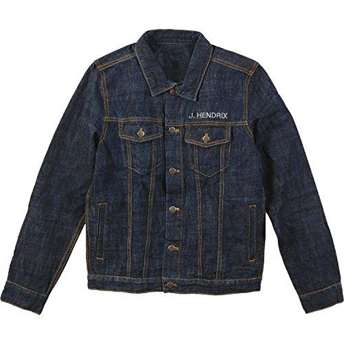 Jimi Hendrix Men's Hendrix Denim Jacket Denim Jacket XX-Large Denim