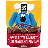 Blue Dog Bakery | Dog Treats | All-Natural | Low-Fat | Peanut Butter & Molasses | 2.5 lb. (Pack of 3)