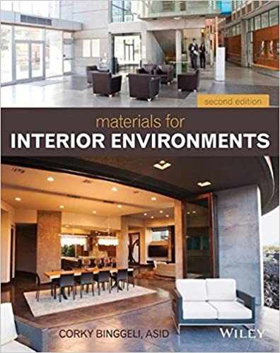Amazon.com: Materials For Interior Environments (9781118306352): Corky  Binggeli: Books