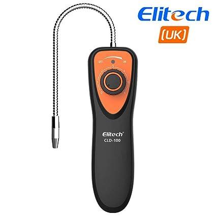Elitech CLD-100 Refrigerante Halógeno Detector de fugas Gas aire HVAC Tester CFC HCFCs HFCs