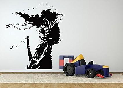 Wall Room Decor Art Vinyl Sticker Mural Decal Afro Samurai ...