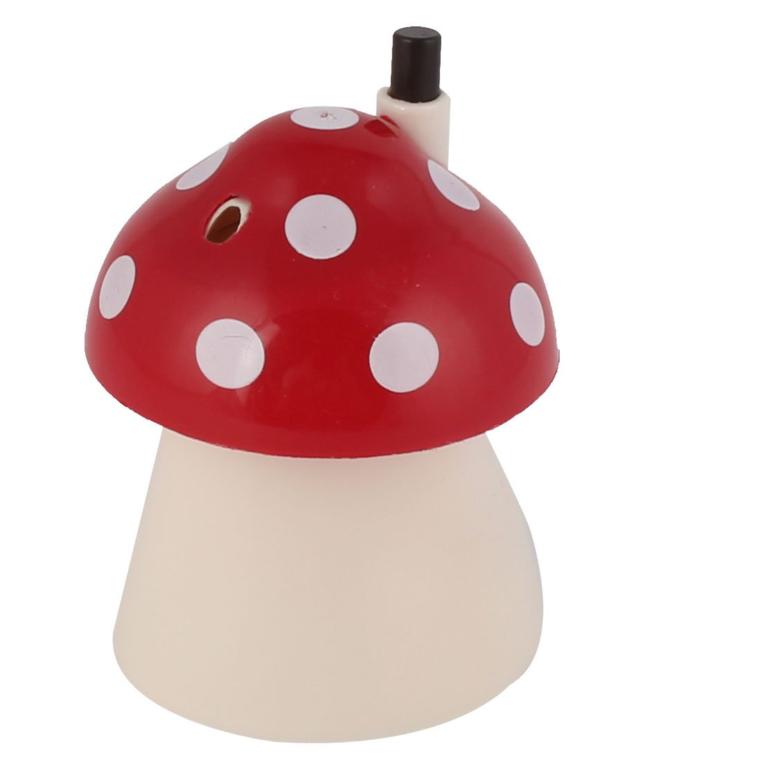 uxcell Plastic Mushroom Shaped Household Family Toothpick Holder Case Red White a16042700ux1882