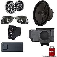 Wet Sounds SSV Works For Polaris RZR 2014+ XP1000 3-Speaker System Package. Subwoofer Will Not Fit Turbo Models.