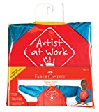 Toys : Faber-Castell Young Artist Smock - Washable Art Smock for Kids