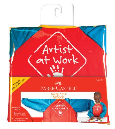 Faber-Castell Young Artist Smock - Washable Art Smock for Kids