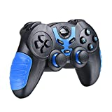 Android Bluetooth Game Controller, BEBONCOOL Bluetooth Gamepad, Wireless Phone Controller For Android Phone / Tablet / TV Box / Gear VR Controller / Emulator (Clip Not Included)
